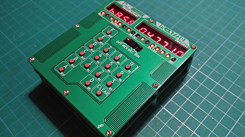 Count To F Easily With This DIY Calculator | Hackaday