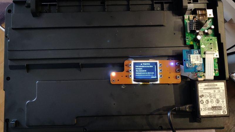 Convert printer to WiFi scanner