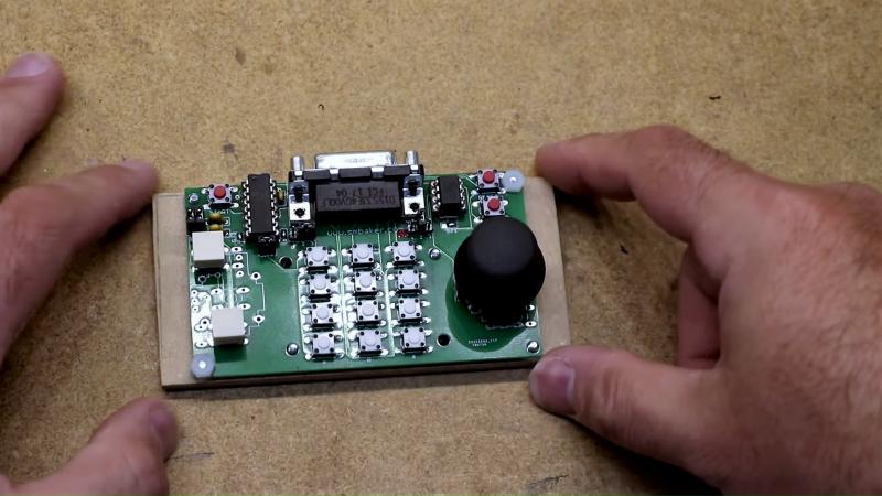 thumbs up for this custom atari 5200 controller hackaday