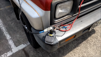 Jump Start Your Car With A Drill Battery | Hackaday