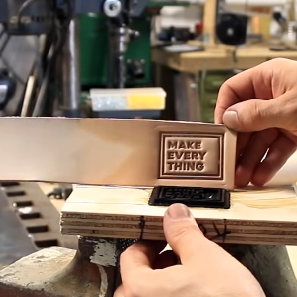 Leather Working With A 3D Printer | Hackaday