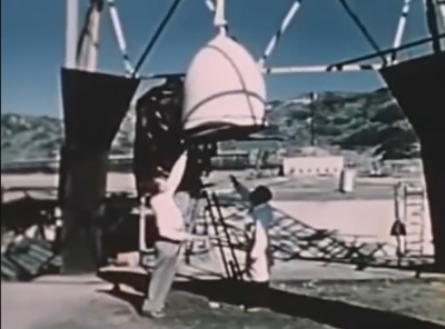 Project Orion early chemical test vehicle