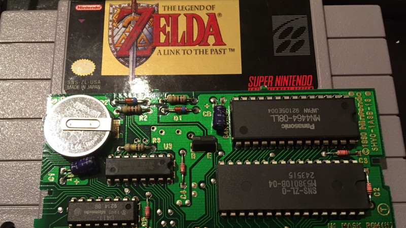 Dumping A Zelda SNES ROM, And Learning A Few Things Along