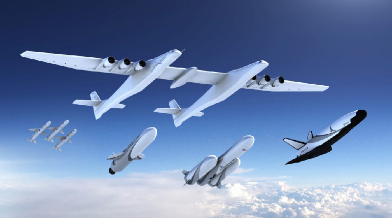 The Largest Aircraft Ever Built Will Soon Launch Rockets To