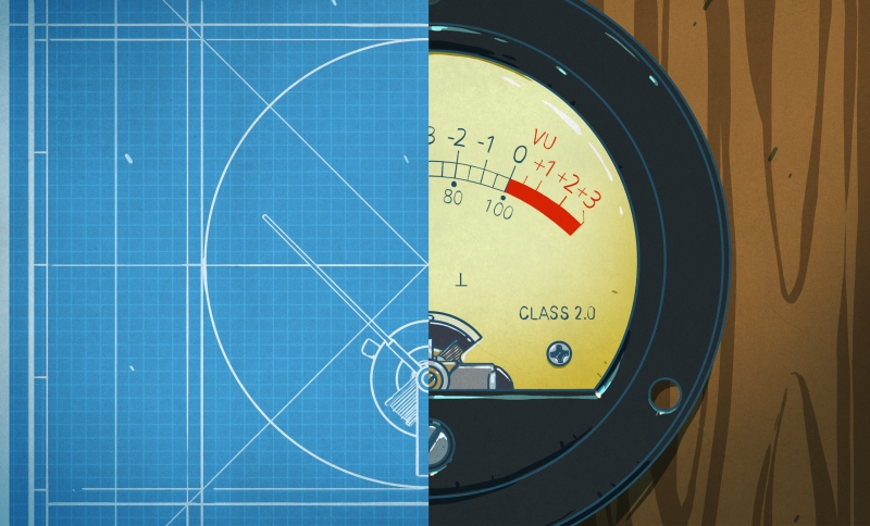 The VU Meter And How It Got That Way   Hackaday