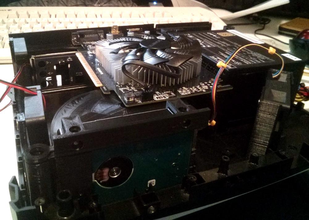 Modern PC Crammed Into An Original Xbox | Hackaday