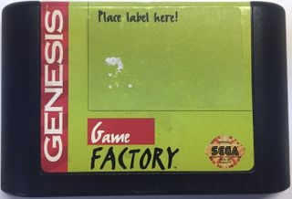Game Factory Sega Cartridge