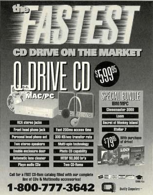Computer Gaming World CD-ROM Ad Nov1993