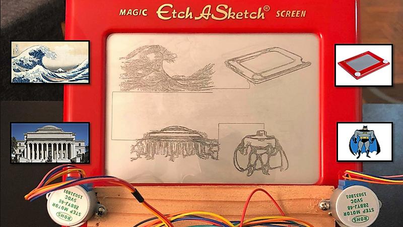Etch Sketch Art Google