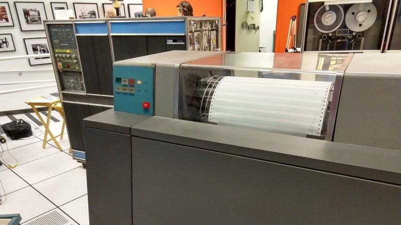 IBM 1403 printer working again