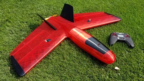 Northern Pike 3D printed plane