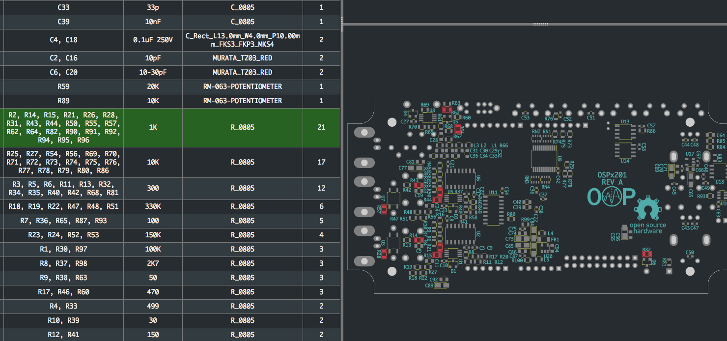 Interactive KiCAD BOMs Make Hand Assembly A Breeze   Hackaday