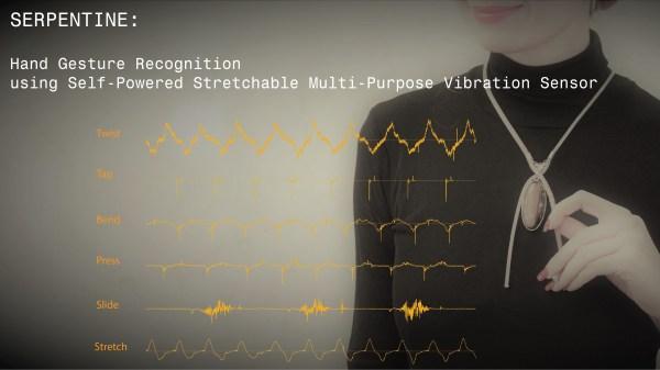 Serpentine: multi-purpose hand gesture sensor