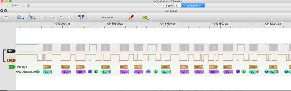 sigrok I2C screenshot
