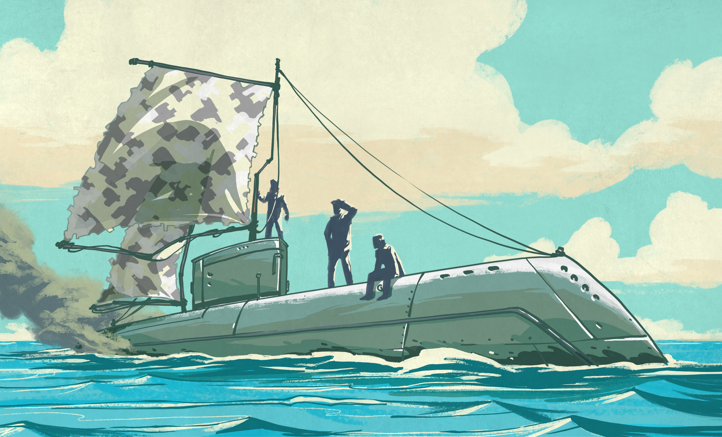 Hacking When It Counts: Setting Sail In A Submarine | Hackaday