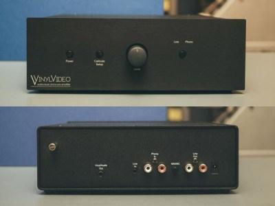 Vinyl Video Amp