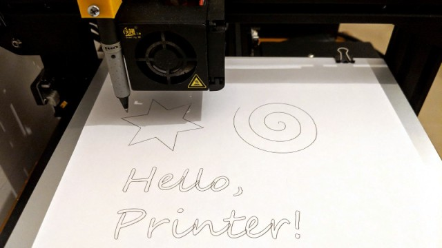 Knock Your 3D Printer Down To 2D