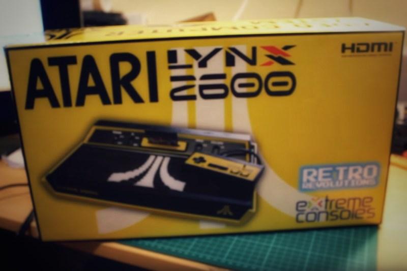 Atari Lynx Becomes Modern 2600 Console Homage | Hackaday
