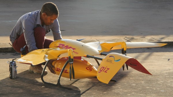 DHL Wingcopter Medicine Drone