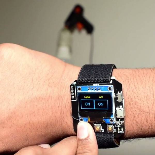 A Multifunction ESP8266 Smartwatch | Hackaday