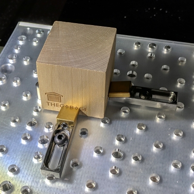 Scratch Built Toe Clamps Keep Your Work In Place | Hackaday