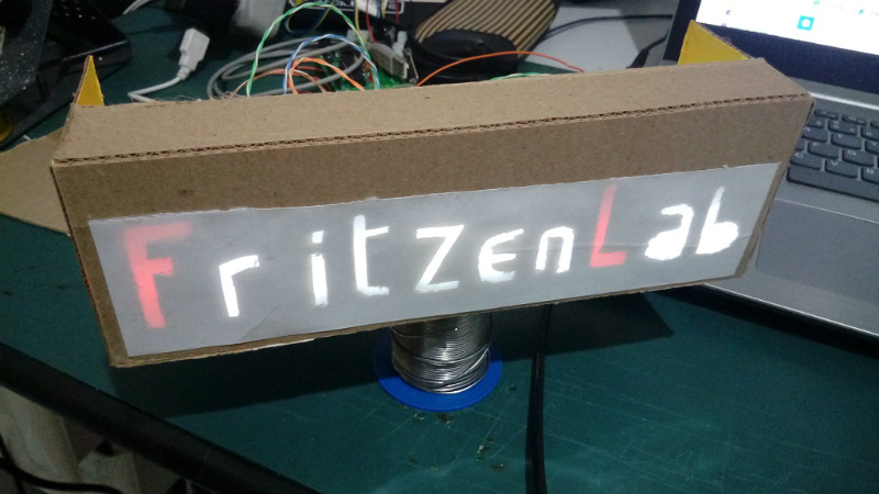 Custom Led Signage From Household Items Hackaday