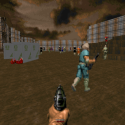 Doom Battle Royale WIth Cheese Mod Screenshot