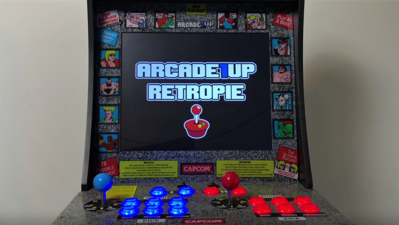 Arcade1up Cabinet Solderless Upgrade With A Side Of Raspberry Pi