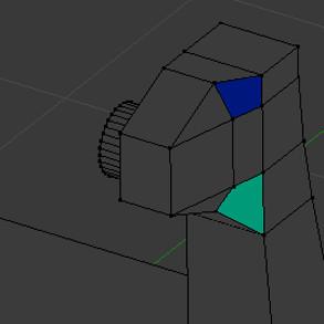 Blender mesh analysis: distortion