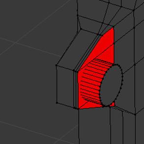 Blender mesh analysis: intersection