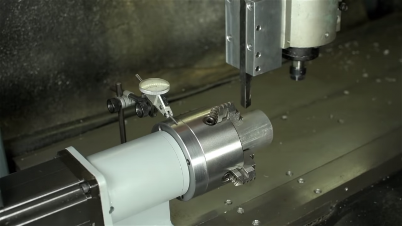 Already Impressive CNC Router Gets An Extra Axis   Hackaday