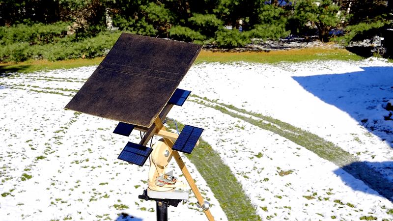 Self Powered Sun Tracker Takes A Cue From Nasa Solar Probe