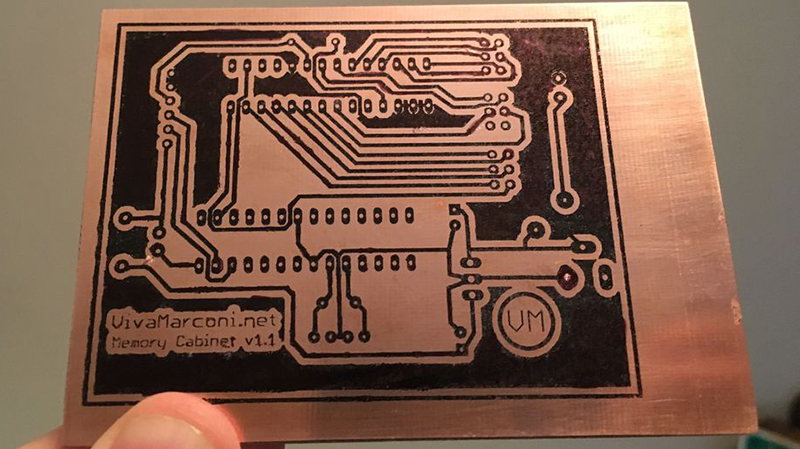 Etch Your Own Circuit Boards In Your