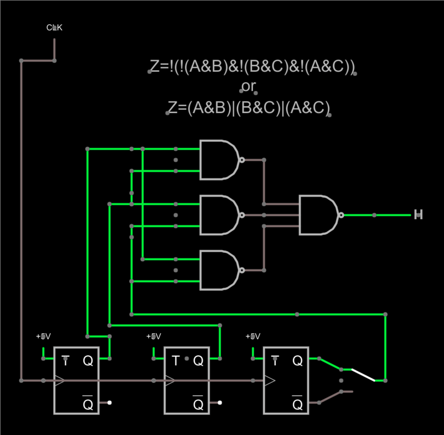 In This Nand Gate Circuit Diagram We Are Going To Pull Down Both Input
