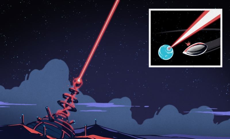 Flagging Down Aliens With World's Biggest Laser Pointer | Hackaday