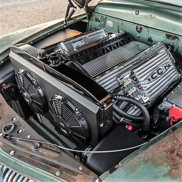 A 1940s Gangster-Mobile Gets An Electric Makeover | Hackaday
