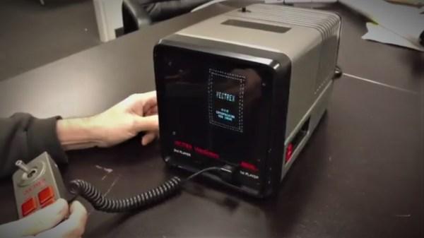 Mini Vectrex Prototype NVMUSA