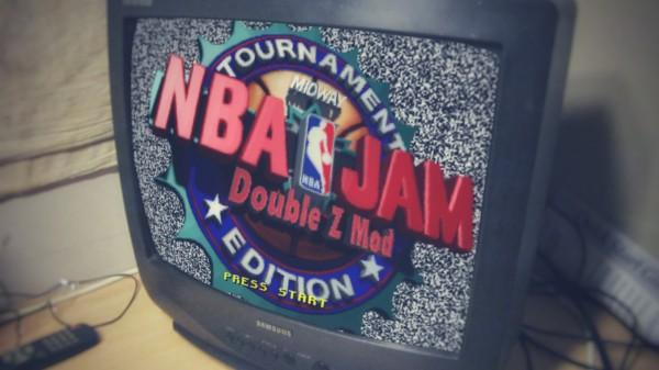 NBA Jam Tournament Edition Double Z ROM Hack Screen