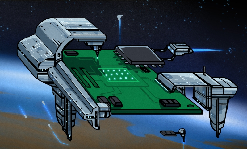 Designing Space-Rated PCBs | Hackaday