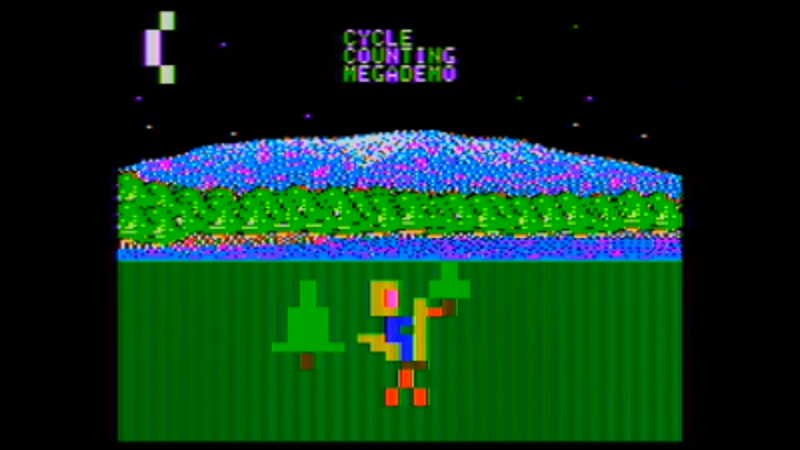 Apple II Megademo Is Countin' Cycles And Takin' Names | Hackaday