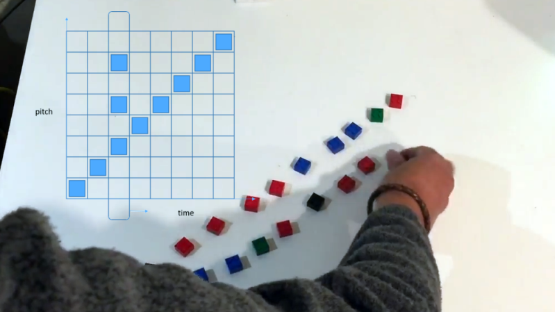Turning LEGO Blocks Into Music With OpenCV | Hackaday