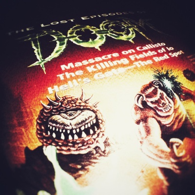 Lost Episodes of DooM Book Cover Square