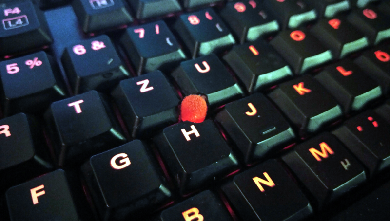 Add A Trackpoint To A Mechanical Keyboard | Hackaday