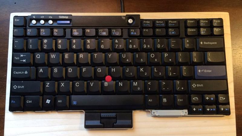 Teensy Liberates The ThinkPad Keyboard | Hackaday