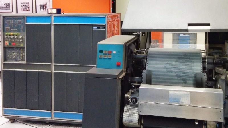 Vintage IBM 1403 Printer Problem Evades An Easy Fix | Hackaday