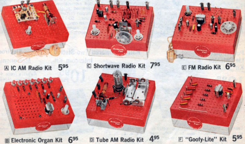 Retrotechtacular: Remembering Radio Shack P-Box Kits | Hackaday