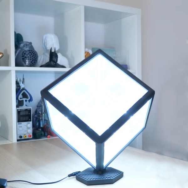 Infinity Cube Is Gorgeous Yet Simple | Hackaday