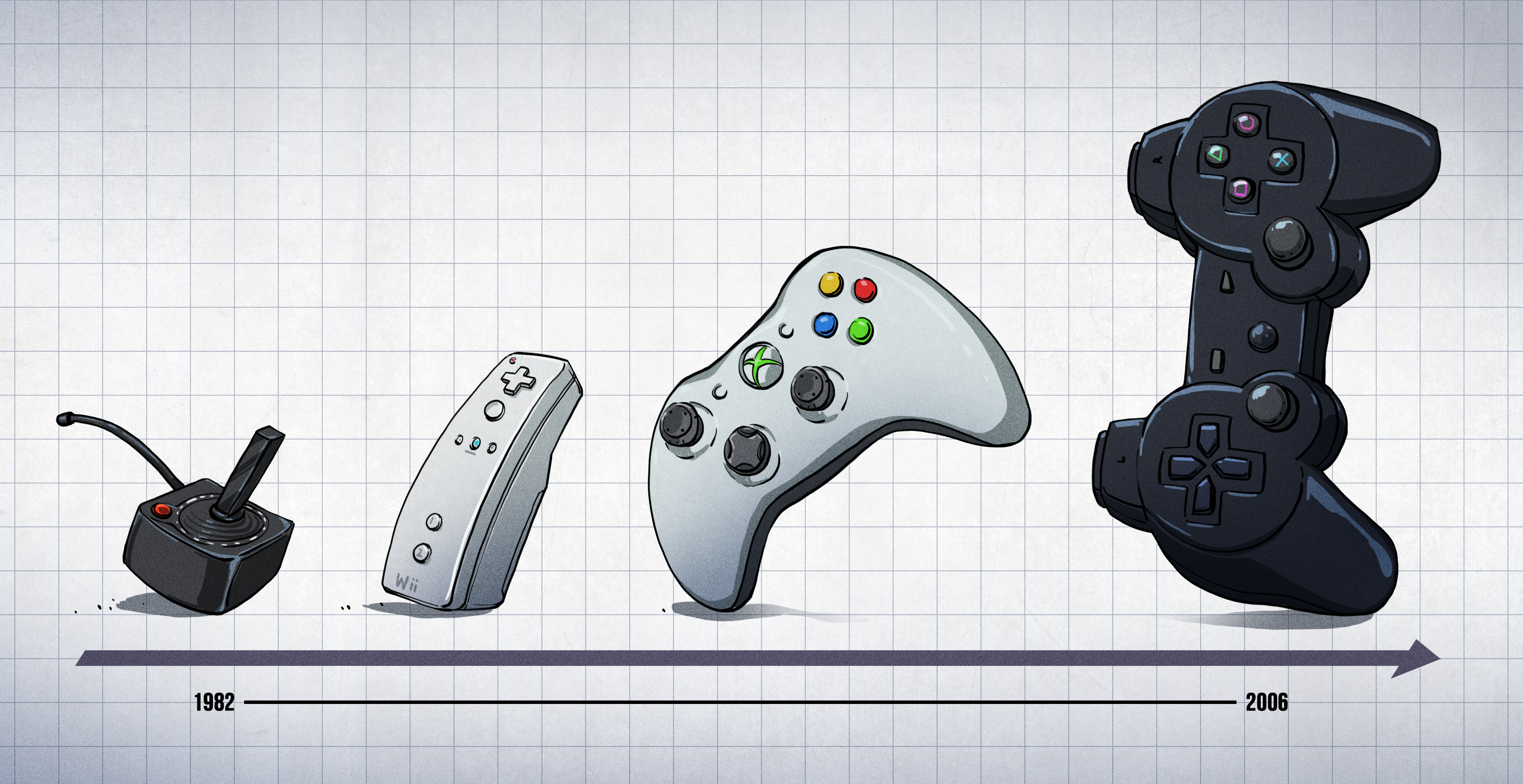 The Evolution Of Wireless Game Controllers | Hackaday