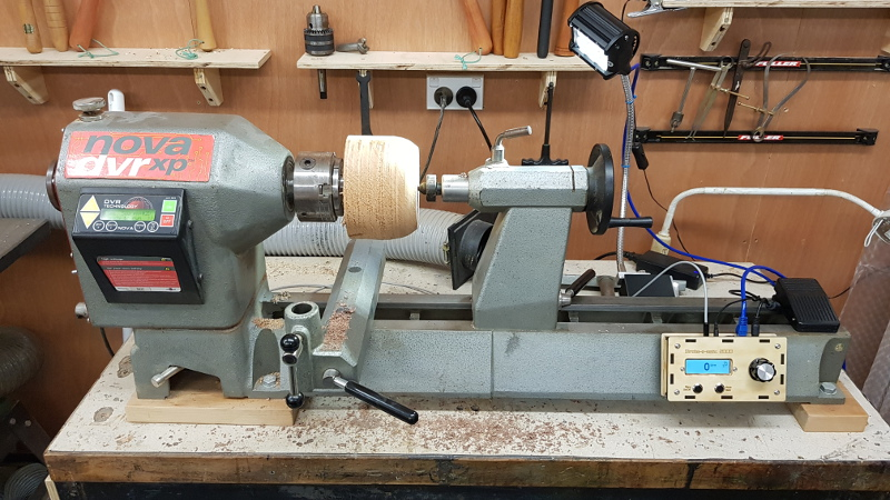 Strobe For Wood Turning Makes Inspection Easy | Hackaday