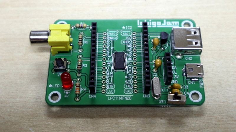 Review: IchigoJam Single Board Computer   Hackaday